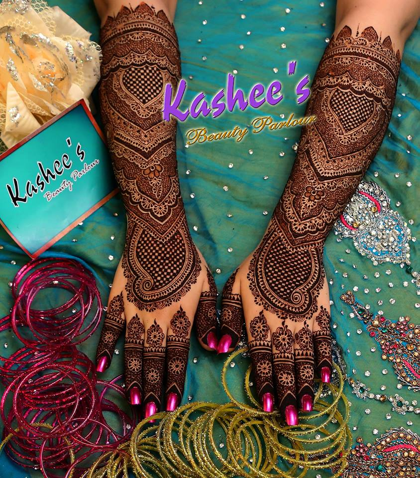 Beautiful Kashee's Mehndi Designs Collection 2016-2017 for Girls (27)