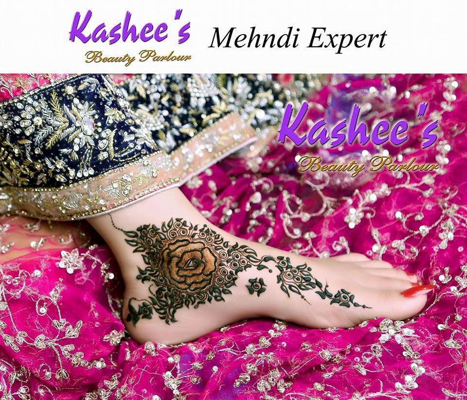 Beautiful Kashee's Mehndi Designs Collection 2016-2017 for Girls  (28)
