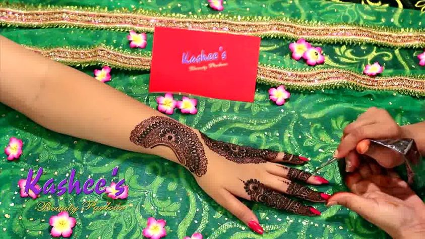 Beautiful Kashee's Mehndi Designs Collection 2016-2017 for Girls (3)