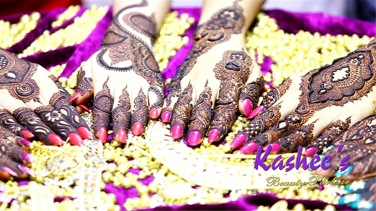 Beautiful Kashee's Mehndi Designs Collection 2016-2017 for Girls  (5)
