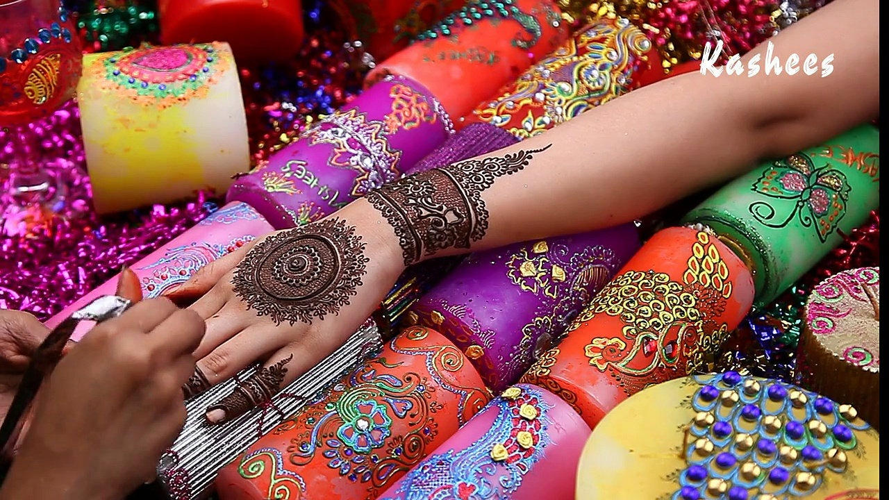 Beautiful Kashee's Mehndi Designs Collection 2016-2017 for Girls  (6)
