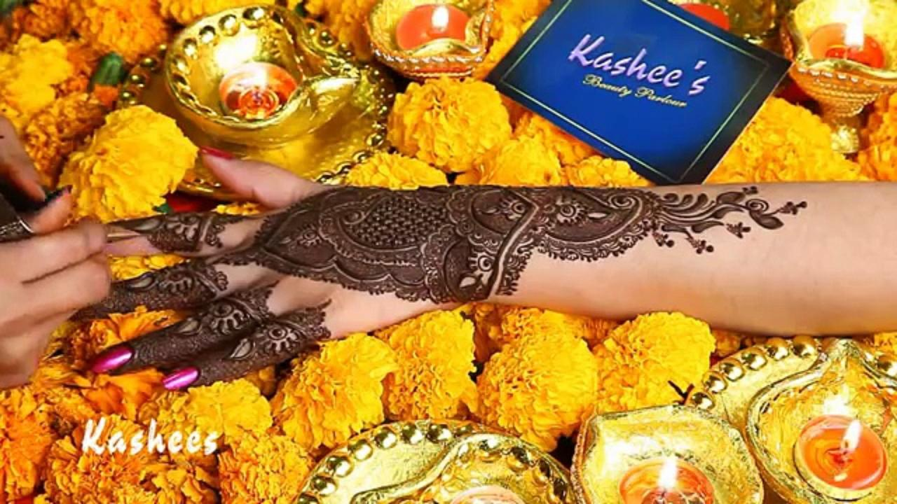 Beautiful Kashee's Mehndi Designs Collection 2016-2017 for Girls  (7)