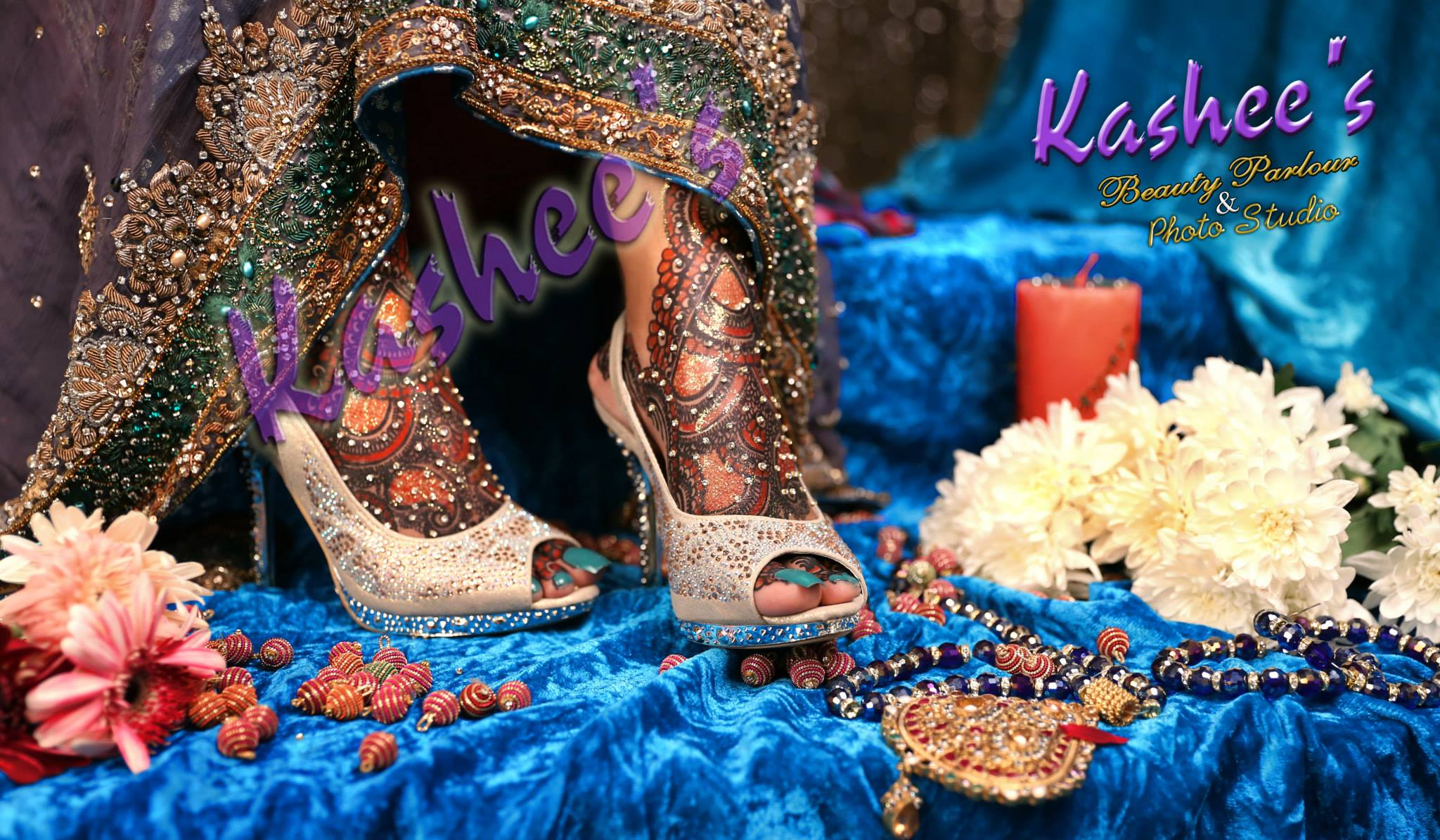 Beautiful Kashee's Mehndi Designs Collection 2016-2017 for Girls  (9)