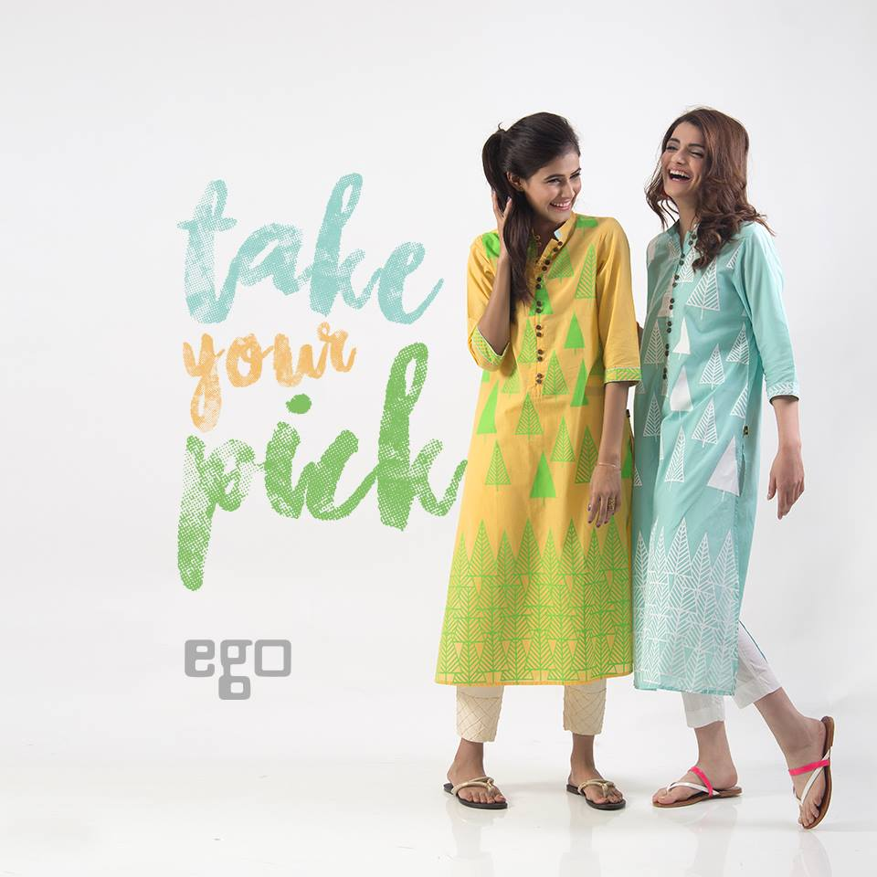 Ego Stylish Ladies Kurtas & Shirts Summer Collection 2016-2017 (12)