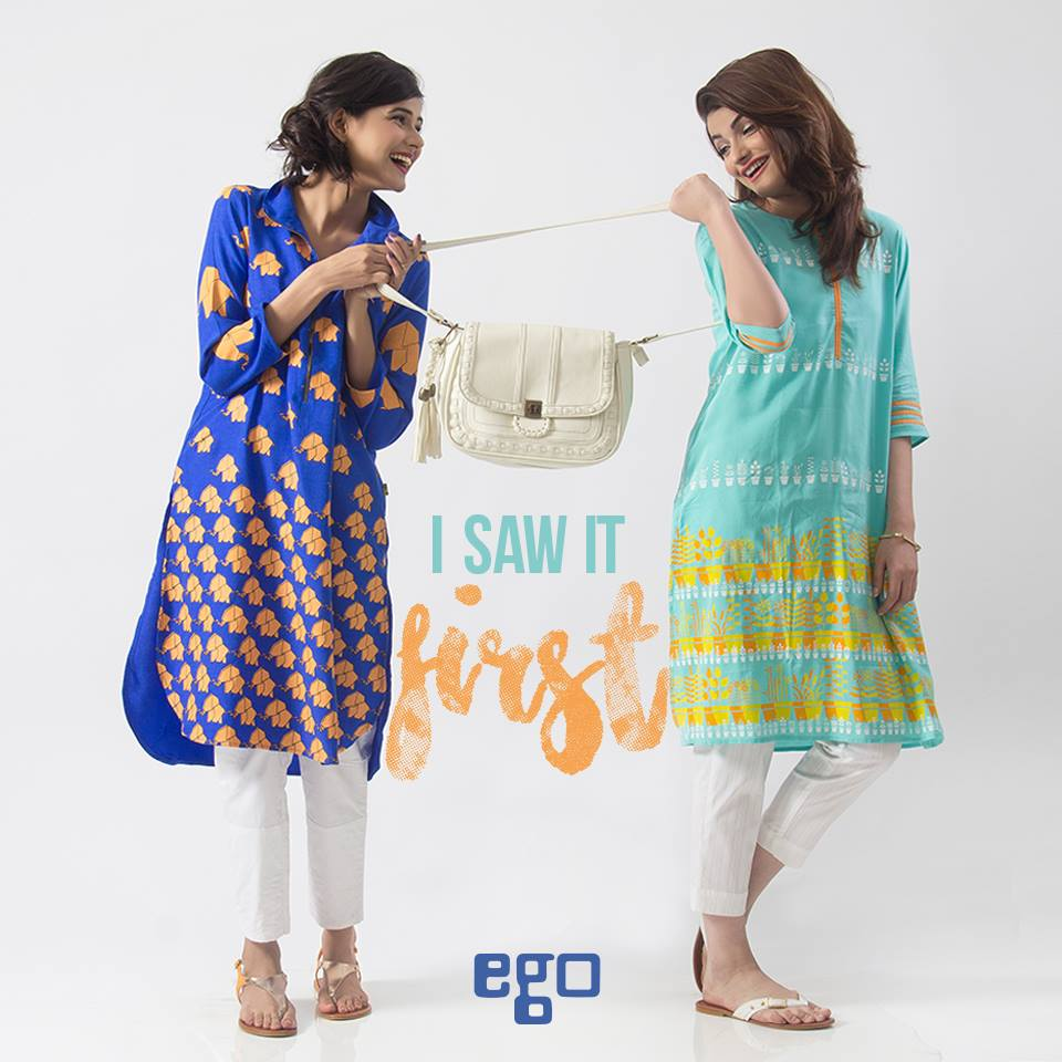 Ego Stylish Ladies Kurtas & Shirts Summer Collection 2016-2017 (13)