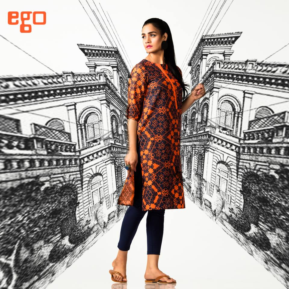 Ego Stylish Ladies Kurtas & Shirts Summer Collection 2016-2017 (17)