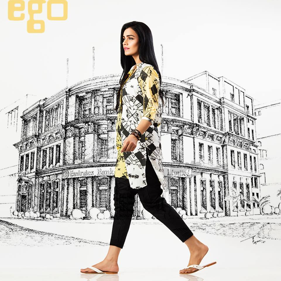 Ego Stylish Ladies Kurtas & Shirts Summer Collection 2016-2017 (18)