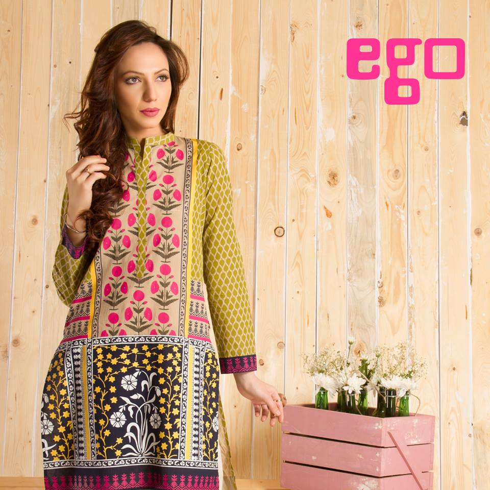 Ego Stylish Ladies Kurtas & Shirts Summer Collection 2016-2017 (3)