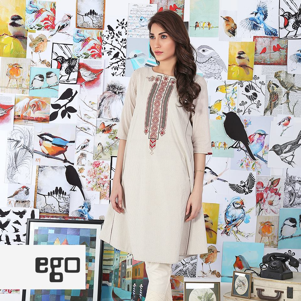 Ego Stylish Ladies Kurtas & Shirts Summer Collection 2016-2017 (8)