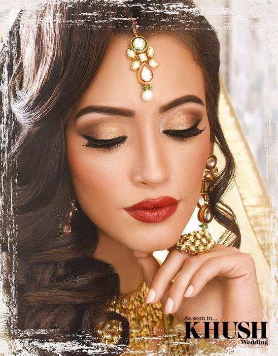 Engagement Bridals, Makeup Tutorial Tips & Dress Ideas 2016-2017 for South Asian Bridals (11)