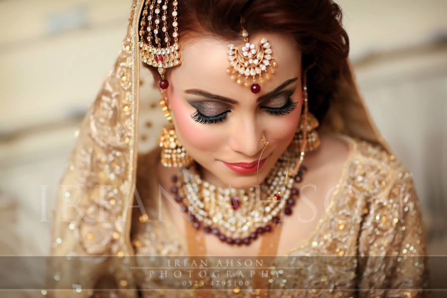 Engagement Bridals, Makeup Tutorial Tips & Dress Ideas 2016-2017 for South Asian Bridals (18)