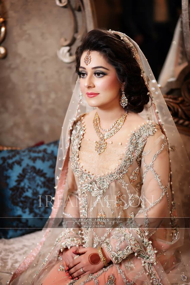 Engagement Bridals, Makeup Tutorial Tips & Dress Ideas 2016-2017 for South Asian Bridals (8)