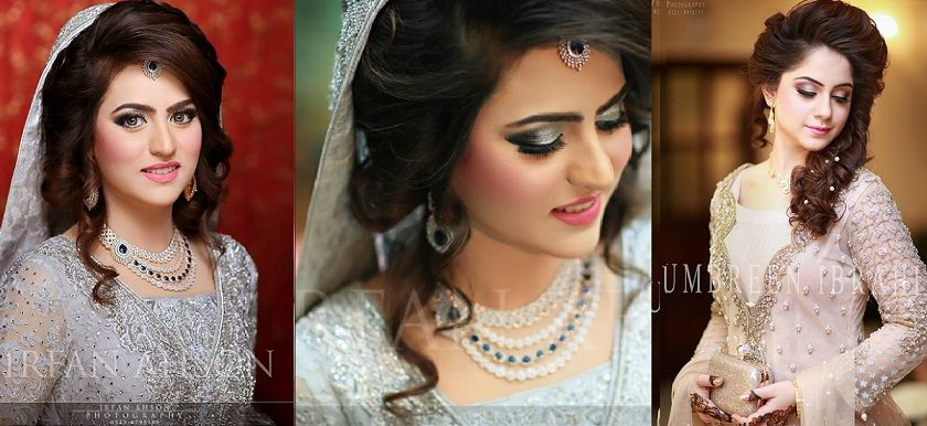 Engagement Bridals, Makeup Tutorial Tips & Dress Ideas 2016-2017 for South Asian Bridals
