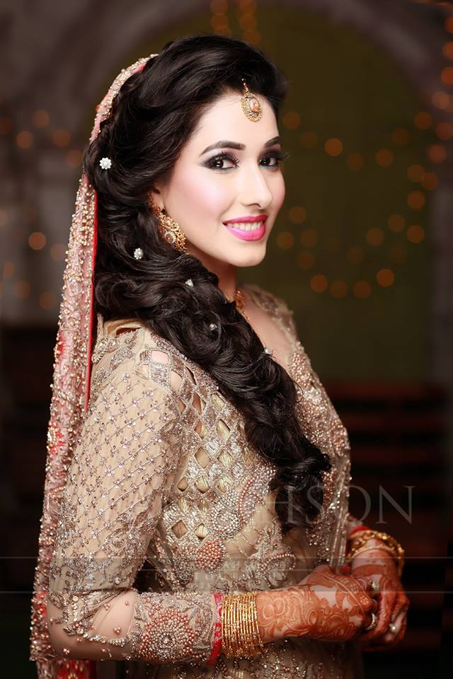 Engagement Bridals, Makeup Tutorial Tips & Dress Ideas 2016-2017 for South Asian Bridals (9)
