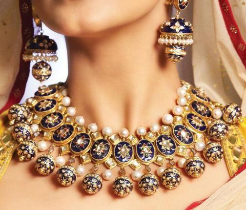 Kundan Jewelery Latest Designs & Trends for Asian Women 2016-2017 (17)