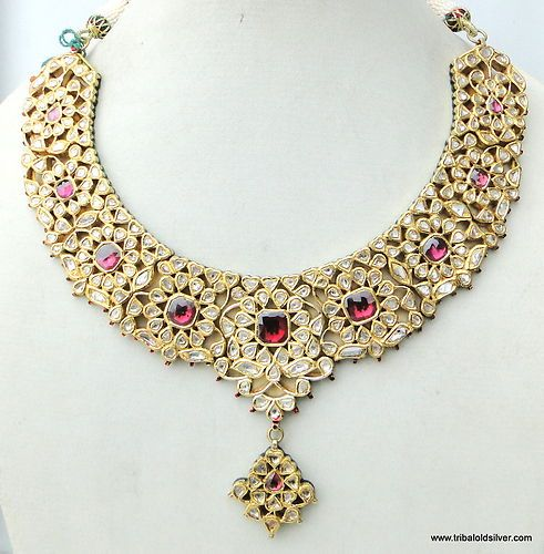 Kundan Jewelery Latest Designs & Trends for Asian Women 2016-2017 (19)