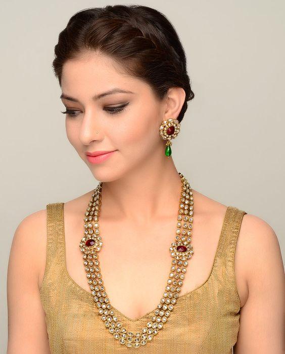 Kundan Jewelery Latest Designs & Trends for Asian Women 2016-2017 (21)