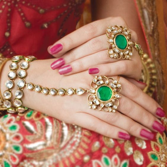 Kundan Jewelery Latest Designs & Trends for Asian Women 2016-2017 (26)