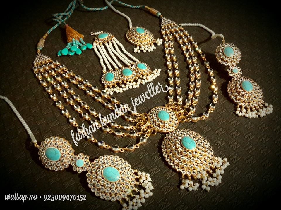 Kundan Jewelery Latest Designs & Trends for Asian Women 2016-2017 (28)