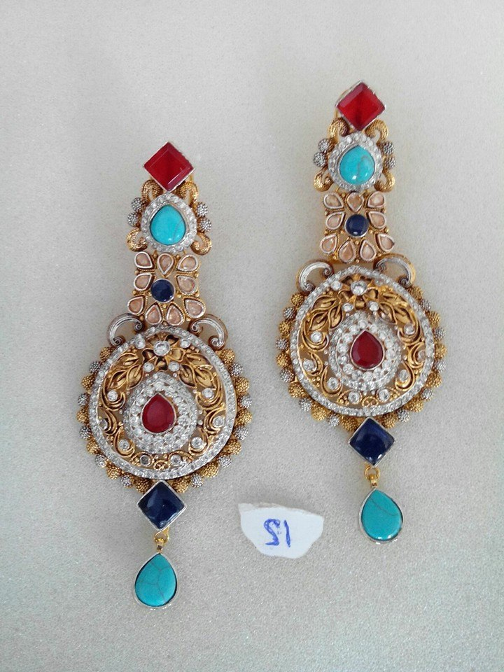 Kundan Jewelery Latest Designs & Trends for Asian Women 2016-2017 (3)