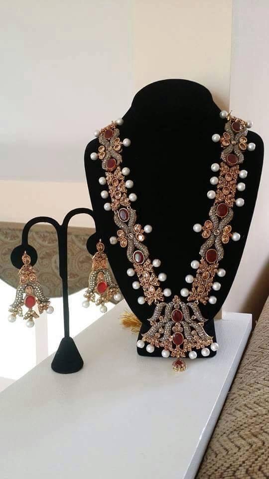 Kundan Jewelery Latest Designs & Trends for Asian Women 2016-2017 (37)