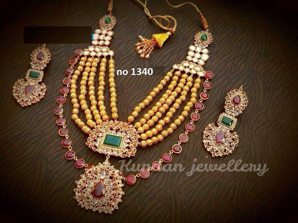Kundan Jewelery Latest Designs & Trends for Asian Women 2016-2017 (38)