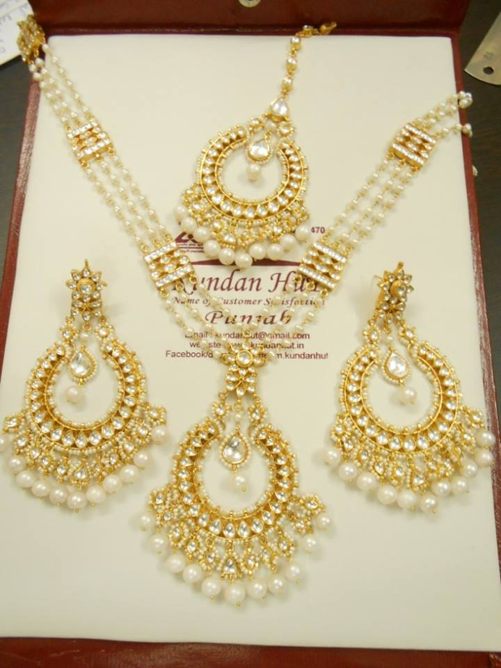 Kundan Jewelery Latest Designs & Trends for Asian Women 2016-2017 (4)