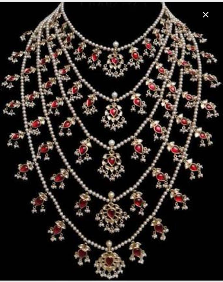 Kundan Jewelery Latest Designs & Trends for Asian Women 2016-2017 (7)