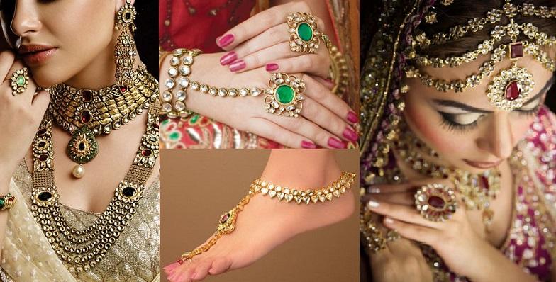 Kundan Jewelery Latest Designs & Trends for Asian Women 2016-2017