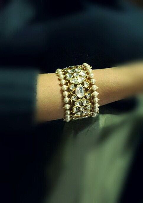 Kundan Jewellery Latest Designs & Trends for Asian Women- Bracelets