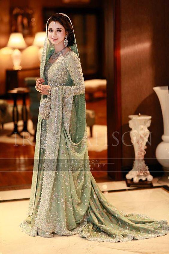 Latest Bridal Engagement Dresses Designs 2018-2019 Collection