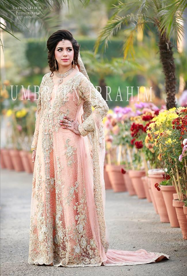 Latest Bridal Engagement Dresses Designs 2016-2017 Collection (12)