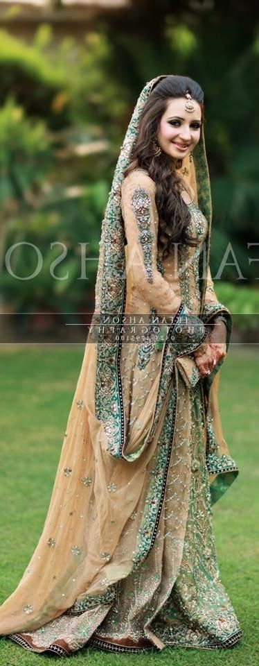 Latest Bridal Engagement Dresses Designs 2016-2017 Collection (21)