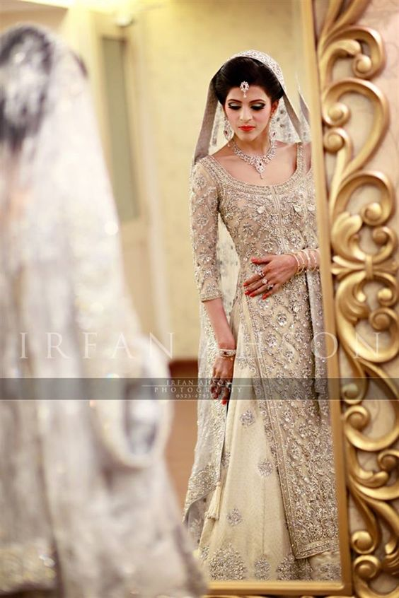 Latest Bridal Engagement Dresses Designs 2016-2017 Collection (25)