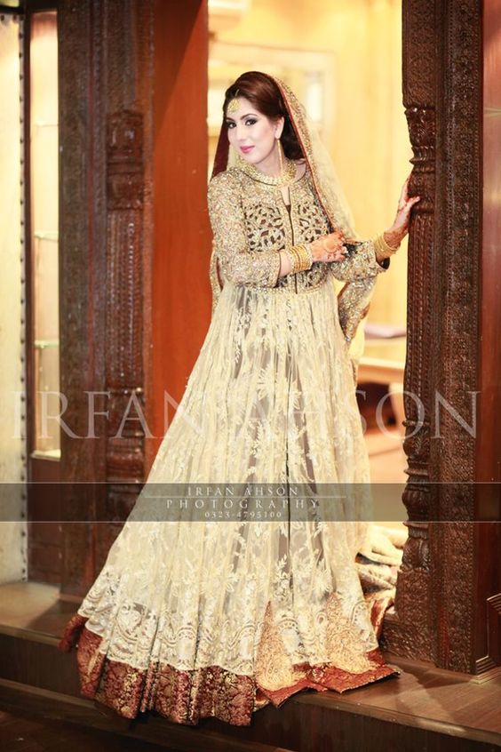Latest Bridal Engagement Dresses Designs 2016-2017 Collection (27)
