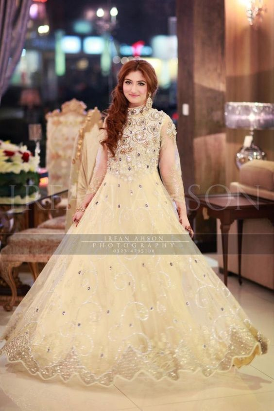 Latest Bridal Engagement Dresses Designs 2016-2017 Collection (28)