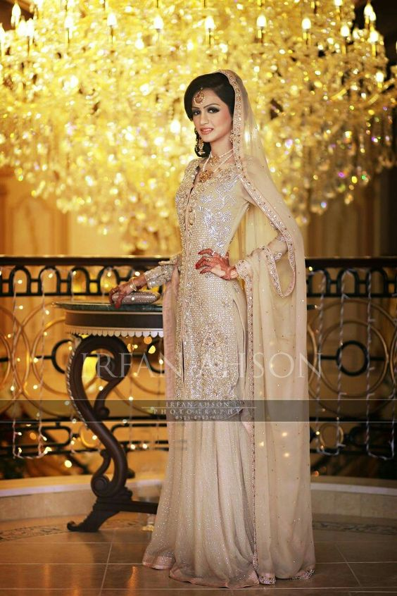 Latest Bridal Engagement Dresses Designs 2016-2017 Collection (29)
