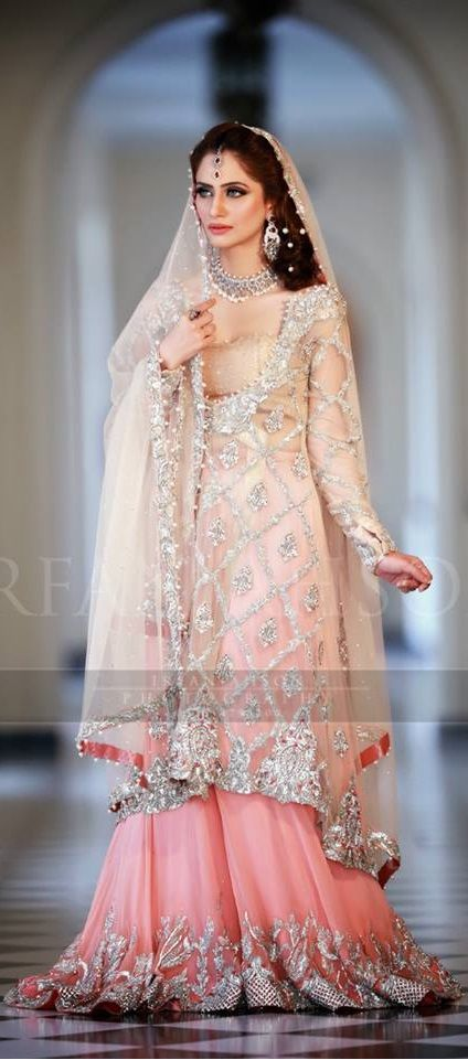 Latest Bridal Engagement Dresses Designs 2016-2017 Collection (4)