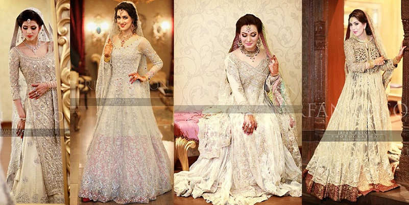 Latest Bridal Engagement Dresses Designs 2016-2017 Collection