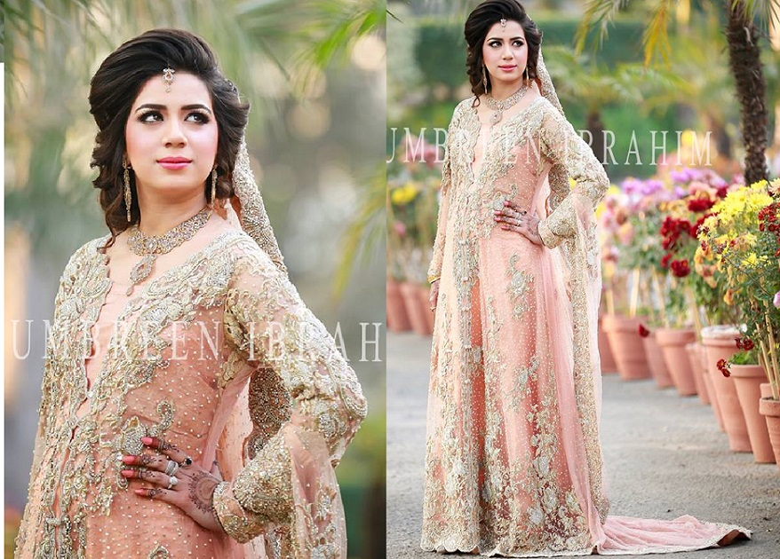 Latest Bridal Engagement Dresses Designs 2016-2017