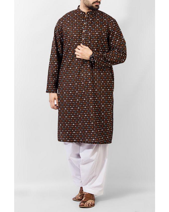Latest Men Summer Kurta Shalwar Designs Collection 2016-2017 (10)