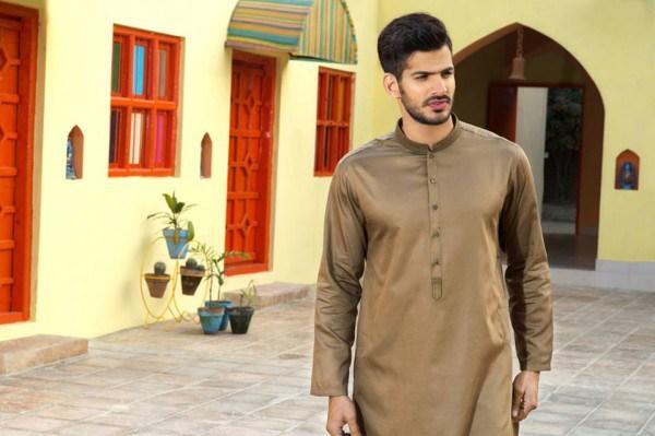 Latest Men Summer Kurta Shalwar Designs Collection 2016-2017 (11)