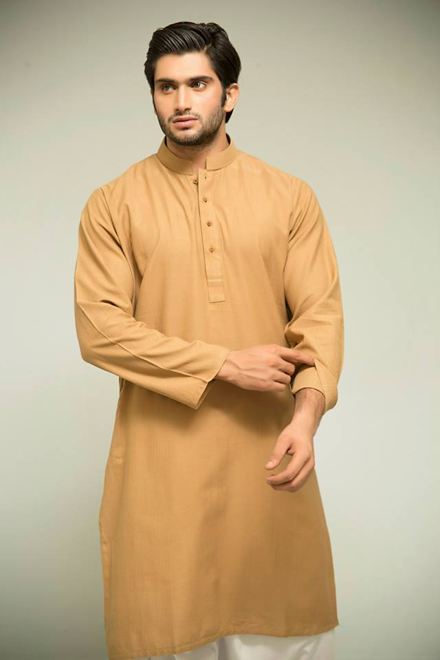 Latest Men Summer Kurta Shalwar Designs Collection 2016-2017 (22)