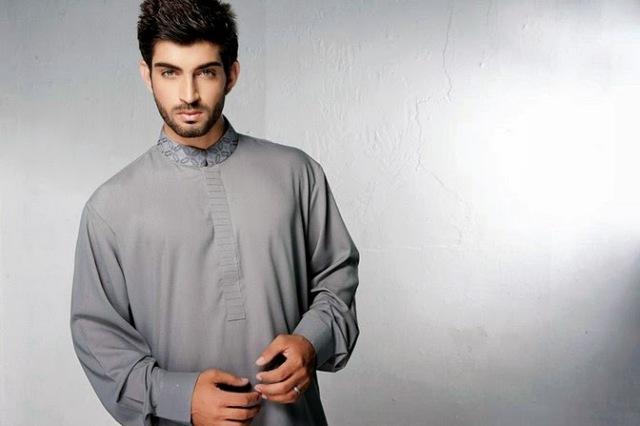 Latest Men Summer Kurta Shalwar Designs Collection 2016-2017 (24)