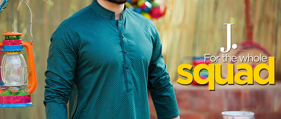 Latest Men Summer Kurta Shalwar Designs Collection 2016-2017 (3)