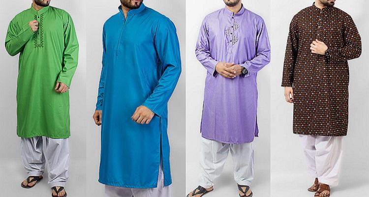 Latest Men Summer Kurta Shalwar Designs Collection 2016-2017