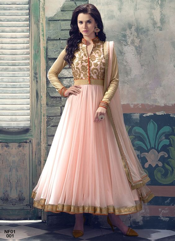 Latest Party Wear & Fancy Wedding Frock Designs Collection 2016-2017 (1)