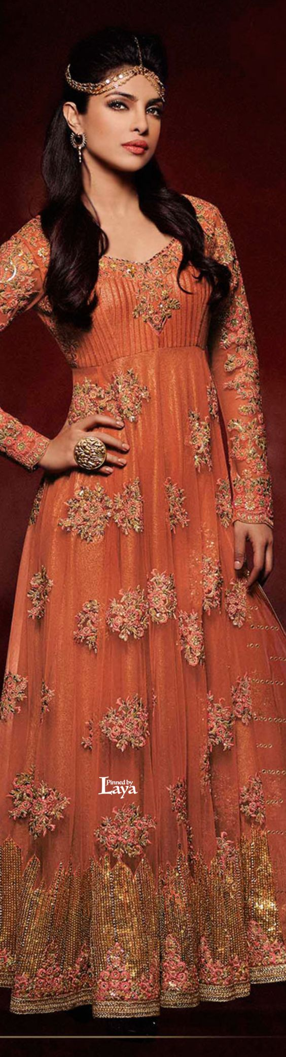 Latest Party Wear & Fancy Wedding Frock Designs Collection 2016-2017 (10)