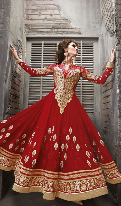 Latest Party Wear & Fancy Wedding Frock Designs Collection 2016-2017 (15)