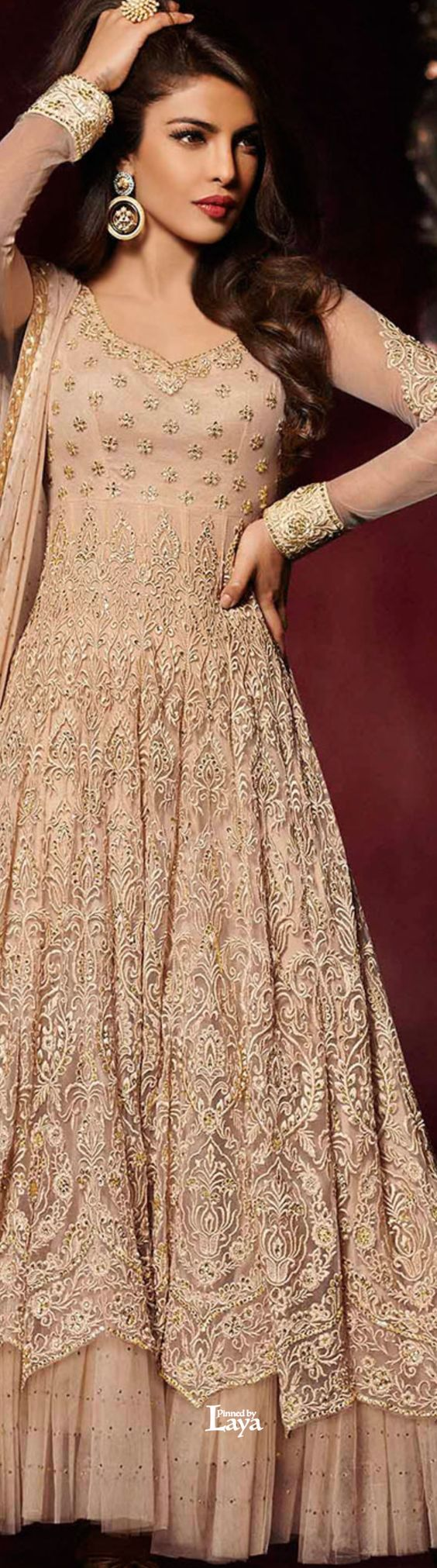 Latest Party Wear & Fancy Wedding Frock Designs Collection 2016-2017 (17)